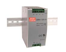 Meanwell DRH-120-48 - PSU DINrail  Vin 340-550Vac Vout 48Vdc/2.5A DRH-120-48